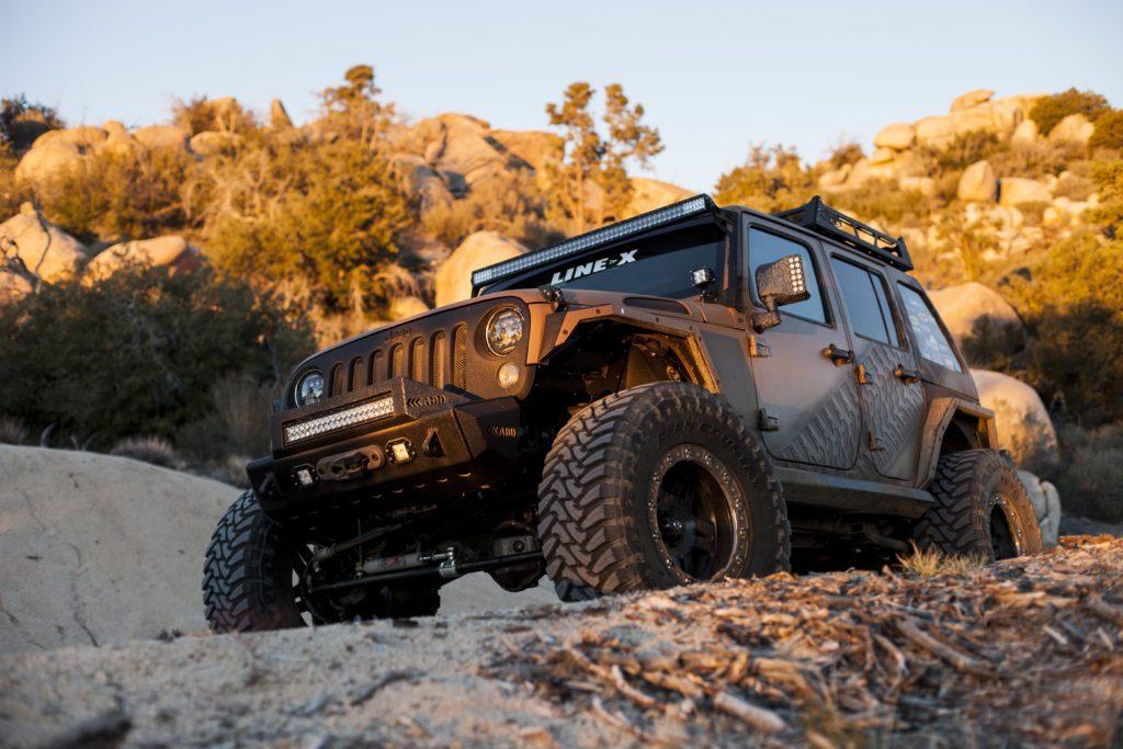 Jeep Sunset Hero