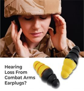 3M dual-ended combat arms earplugs