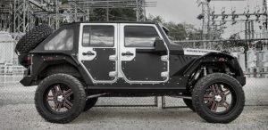 Fab Fours Jeep Body Armor
