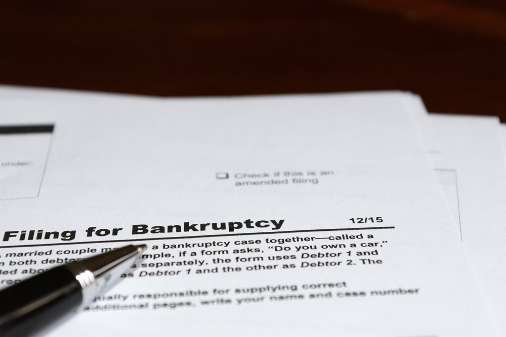 bankruptcy paper work