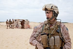 Marine At Outpost - Military Combat Earplugs 3M Lawsuit