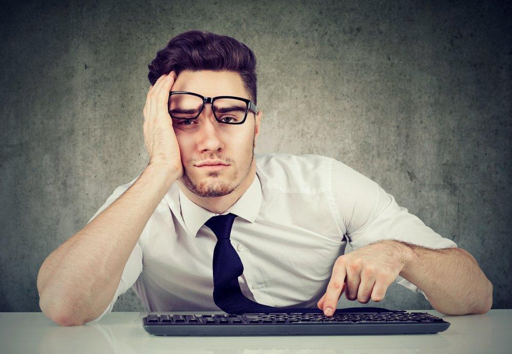 tired man with glasses - Sleep Apnea Treatment in East Idaho