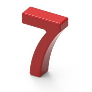 Number 7 - 7 Keys to Increase Productivity