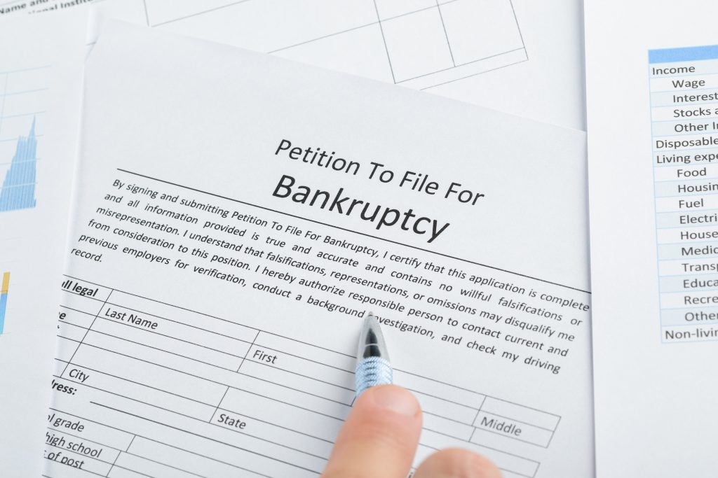 bankruptcy papers in ft. myers