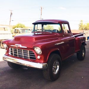 1950s Chevy Truck - Red