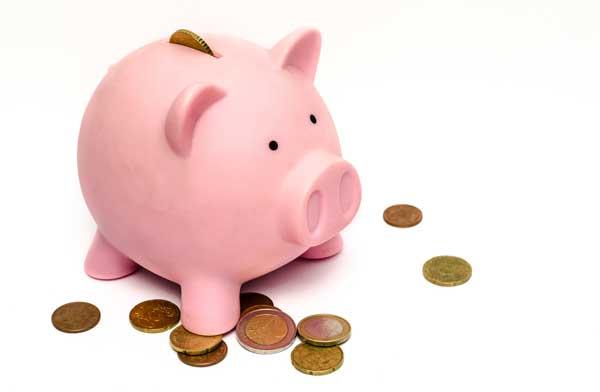 pink piggy bank - bankruptcy Port Charlotte