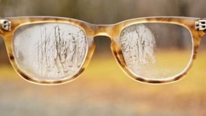 picture of foggy glasses