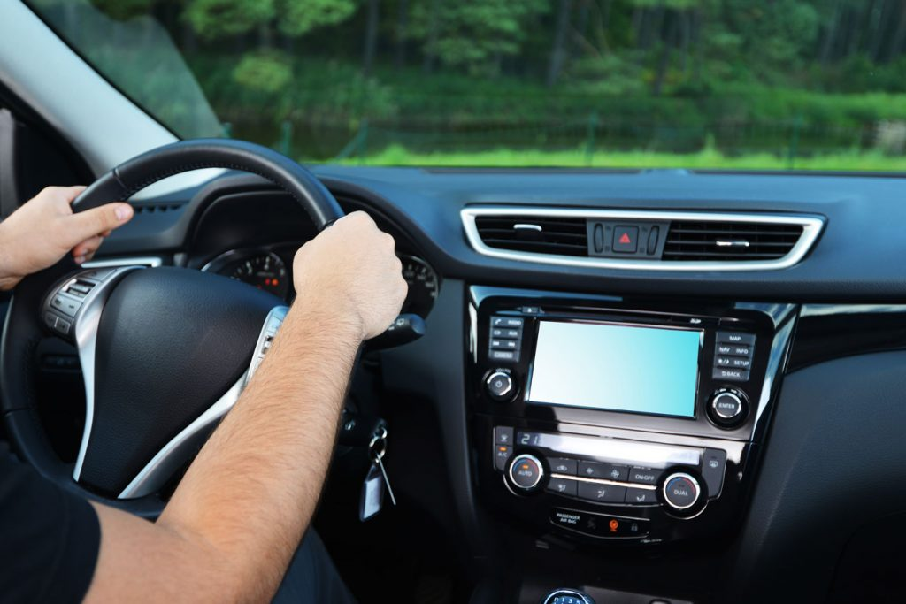 man driving car - Missouri Speeding Ticket
