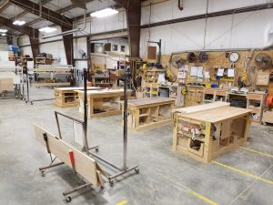 Murphy Beds manufacturing at Wilding Wallbeds